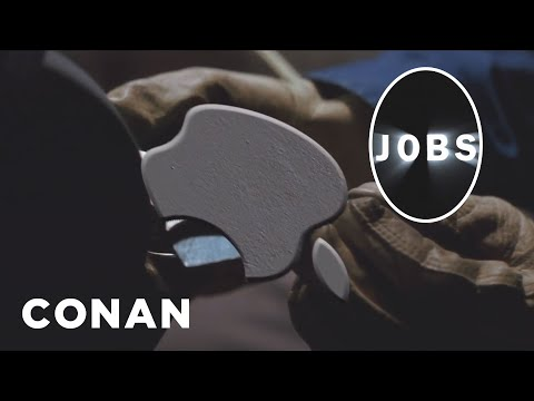 Sneak Preview: Christian Bale As Steve Jobs - CONAN on TBS