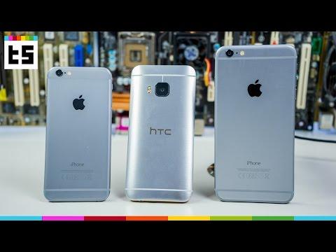 HTC One M9 vs iPhone 6  BestFight