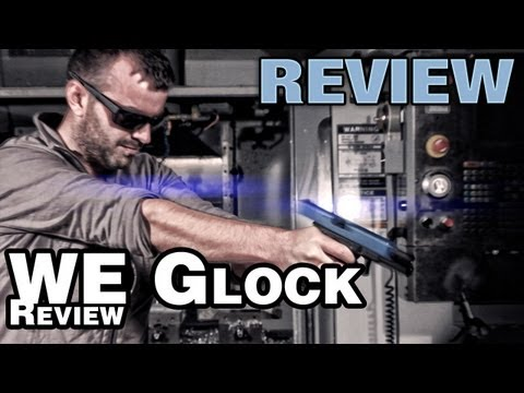 WE Glock 17 2Tone GBB Airsoft Pistol - EpicAirsoftHD Review - Part 2
