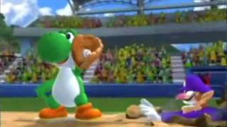 Mario Superstar Baseball Opening Movie