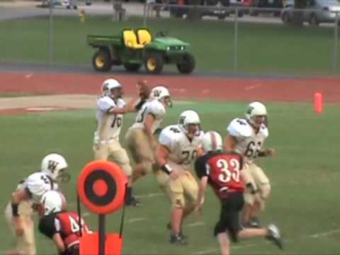 Tyler Dawidowski #28 Freshman highlights Windsor High School