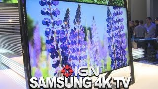 Samsung's Revolutionary Floating TV Design - CES 2013