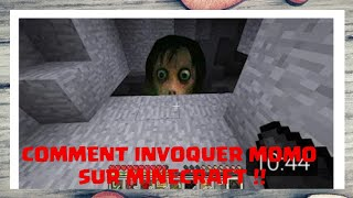 COMMENT INVOQUER MOMO SUR MINECRAFT !! PS4/PS3/XBOX ONE/360/WII U/SWITCH/PS VITA/PC/MCPE TROLL FR