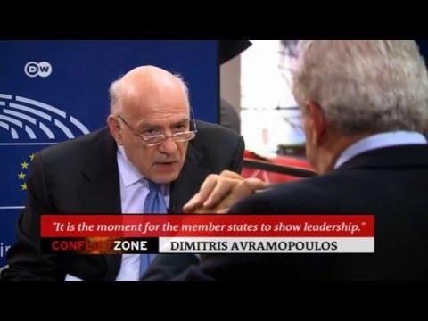 Dimitris Avramopoulos on Conflict Zone   Conflict Zone