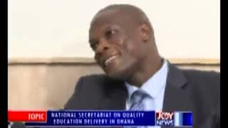 Quality Education in Ghana - PM Express on Joy News (29-9-14)