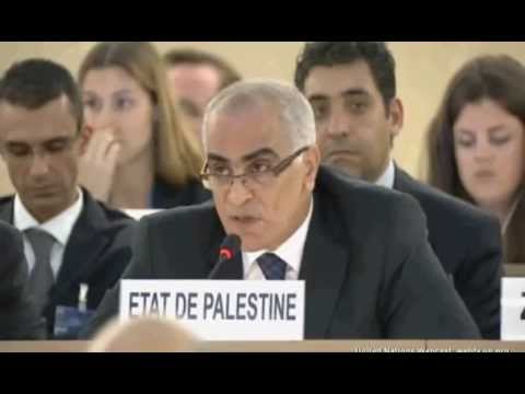 GAZA UN HRC - State of Palestine request 2014-07-23 France abstention