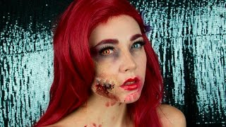 Zombie Ariel make up tutorial