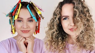Straw Curls - Heatless Faux Curly Hair!