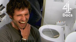 Guy Martin Tries Out a Japanese Toilet?