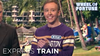 Vanna on the Express Train | Wheel of Fortune