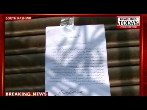 Kashmir Polls: Hizbul Mujahideen Warns People To Stay Away From Elections video