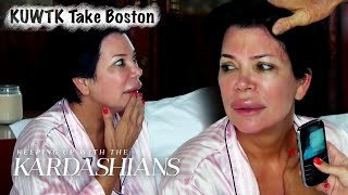 Kris' Lip Blows Up Like a Balloon After Allergic Reaction | KUWTK Boston | E!