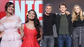 5 BIGGEST D23 2017 Reveals - Ultimate Disney Princess Cameo & Avengers Infinity War Trailer Details