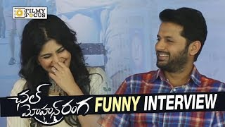 Nithin and Megha Akash Funny Interview about Chal Mohana Ranga Movie