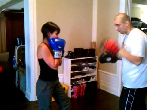 Kickboxing Drills At Your Home. Image 1