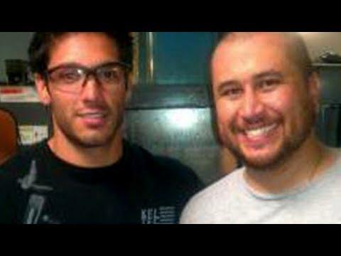 George Zimmerman All Smiles At Gun Factory