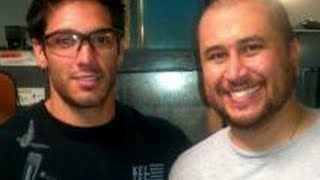 George Zimmerman All Smiles At Gun Factory  8/27/13