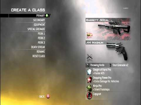 MW2: How To Get A Nuke-  Best Class Setups