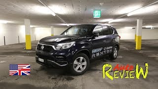 2018 SsangYong Rexton Sapphire 2.2l Turbo Diesel | Auto Review | Episode 99 [ENG]