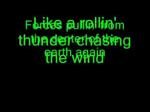 lightning crashes  with lyrics