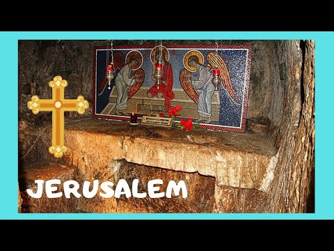 The Prison of Christ, rare views inside, Jerusalem [my Easter Series]