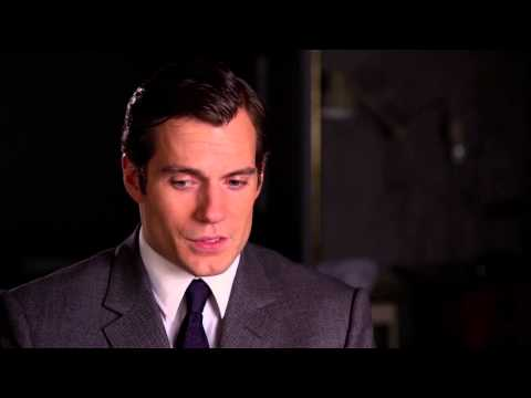 """The Man from U.N.C.L.E.: Henry Cavill """"Solo"""" Behind the Scenes Interview"""