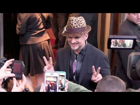 Boy George and more attend the Jean Paul Gaultier Fashion Show in Paris