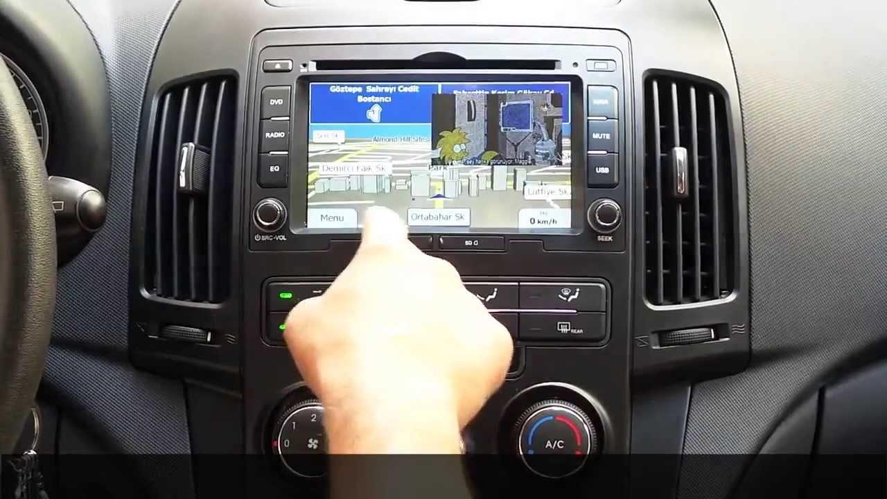 For X 5656 Hyundai İ30 Navigasyon Ve Multimedya Sistemleri
