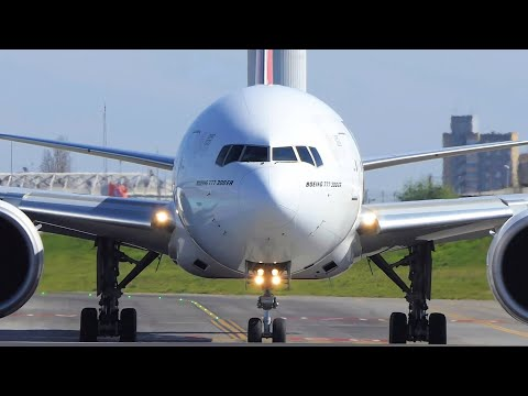 BOEING 777-300ER, AIRBUS A21neo and More | Landings and Departures