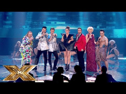 The X Factor Medley - The Time (dirty Bit) | The Final | The X Factor Uk 2014 video