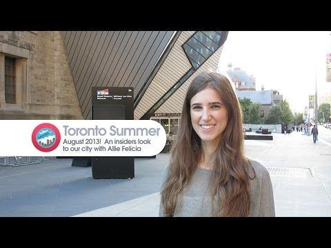 Toronto Travel Guide |  Inside Toronto Pilot - Episode 00 (Aug 2013)