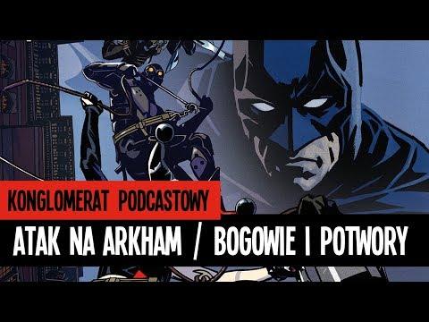 Batman: Atak na Arkham / Liga sprawiedliwości: Bogowie i potwory - recenzja- film