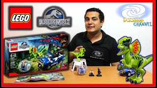 LEGO Jurassic World Dilophosaurus Ambush Set 75916 Review en Español