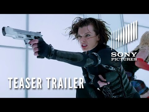 Resident Evil: Retribution 3d - Official Teaser Trailer - Opens 9 14 video
