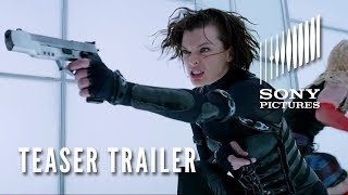 Resident Evil: Retribution - RESIDENT EVIL: RETRIBUTION 3D - Official Teaser Trailer - Opens 9/14