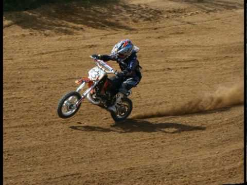 kinder motocross rennen