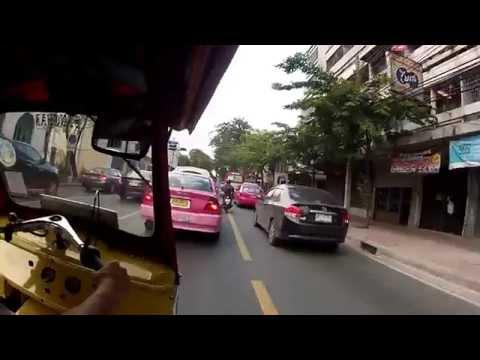 BANGKOK from Khao San Road to China Town by TUK TUK