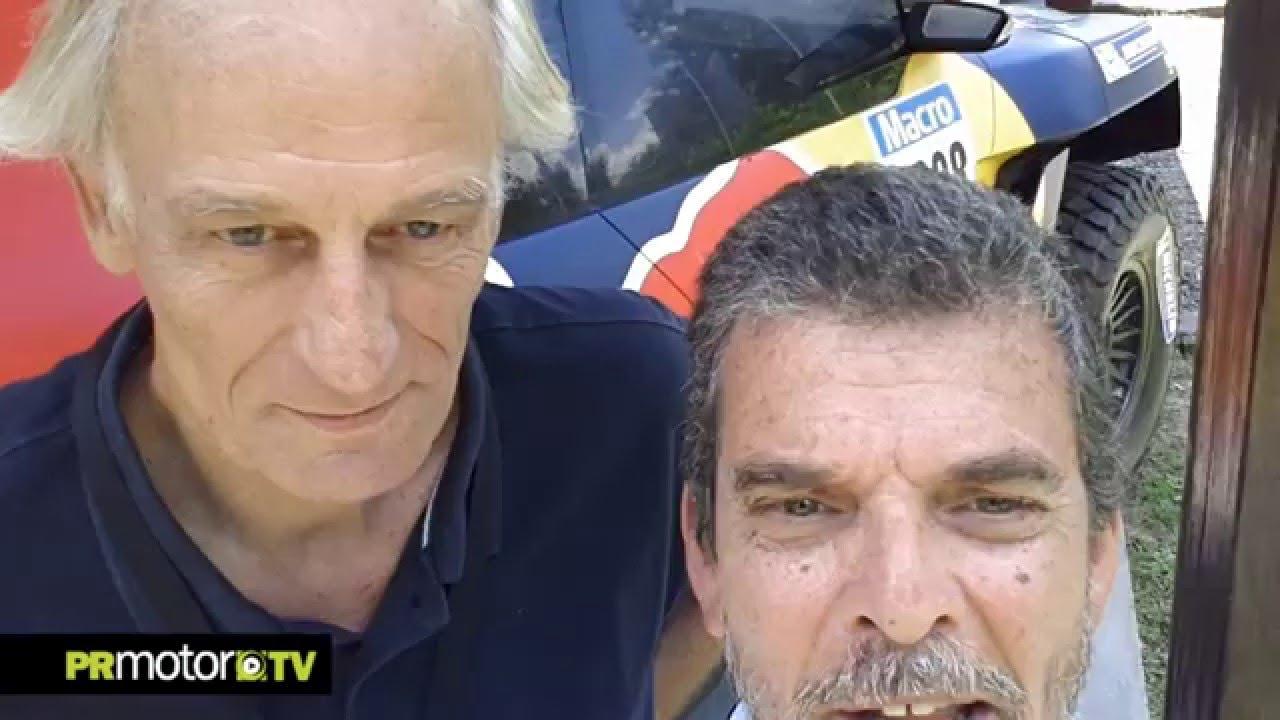 Entrevista a Thomas Harpe en la presentacion Equipo PEUGEOT 2008 DKR Buenos Aires by PRMotor TV