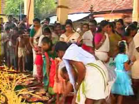 Aranmula Temple Video Vallasadhya at Aranmula Temple