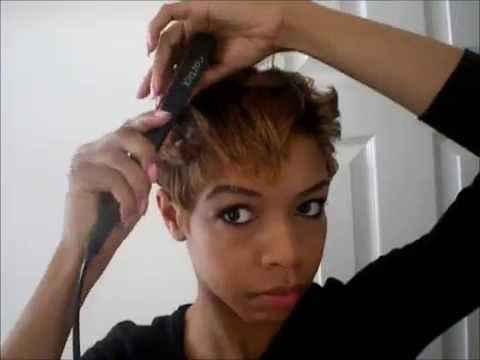 Quick Easy Short Hair Style YouTube