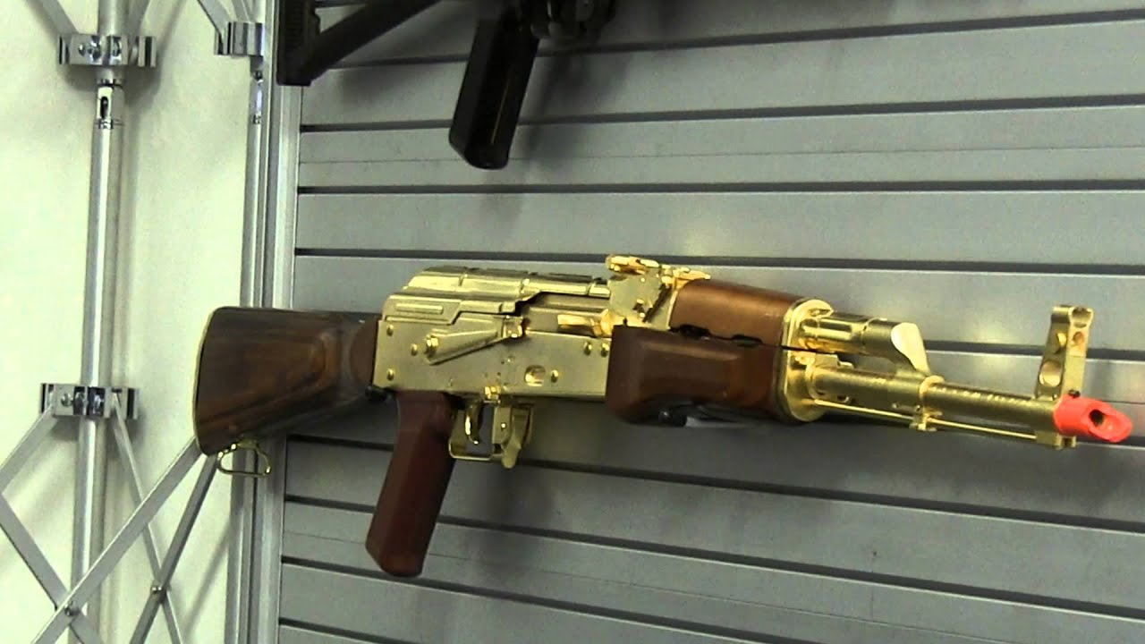 the golden ak at g g fox airsoft youtube. Black Bedroom Furniture Sets. Home Design Ideas