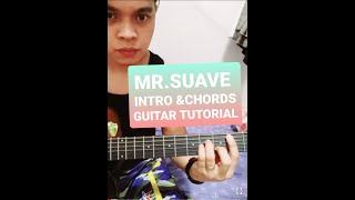 Mr suave guitar tutorial intro and chords
