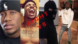 Vidcon Fight? B LOU AND ZIAS VS SOLLUMINATI AND KT THE SHOOTA