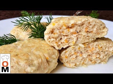 Сочные Куриные  Котлеты,  Даже Вкусней Чем Жареные | Chicken Rissoles