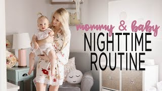 MOMMY & BABY NIGHTTIME ROUTINE 2018 / Solo without Dad!