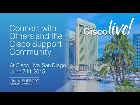 Cisco Live San Diego 2015 - Opening of Cisco Live