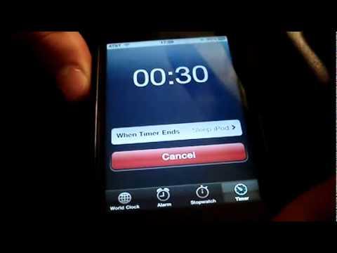 Como Hacer Que Nuestro iPhone iPod Touch & iPad Se Apague Automaticamente