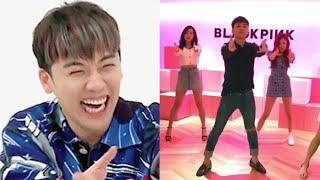 BIGBANG`s Seungri Hilariously Dance Together with BLACKPINK for [Ddu-Du Ddu-Du]