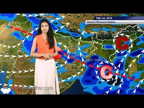 18 July, 2015 Monsoon Updates   Skymet Weather