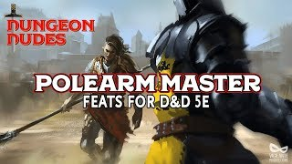 Polearm Master - Feats in Dungeons and Dragons 5e